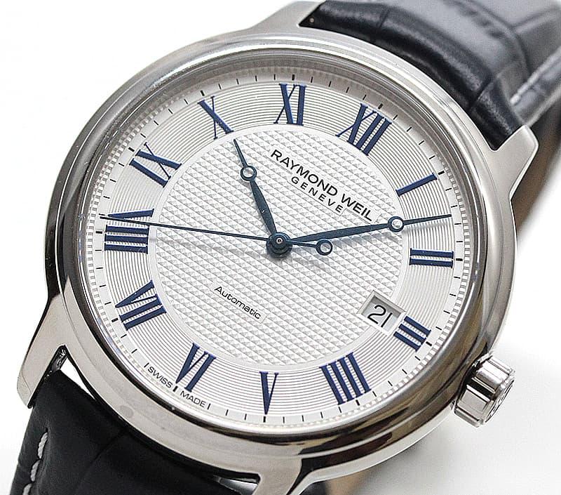 レイモンドウェイル マエストロ(MAESTRO) 2237-STC-J0655 ホワイト 腕時計