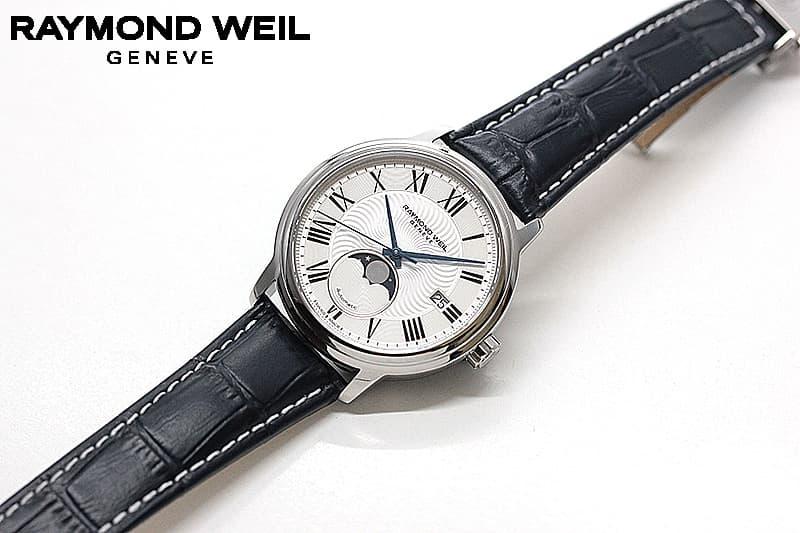 自動巻き ムーンフェイズ 腕時計