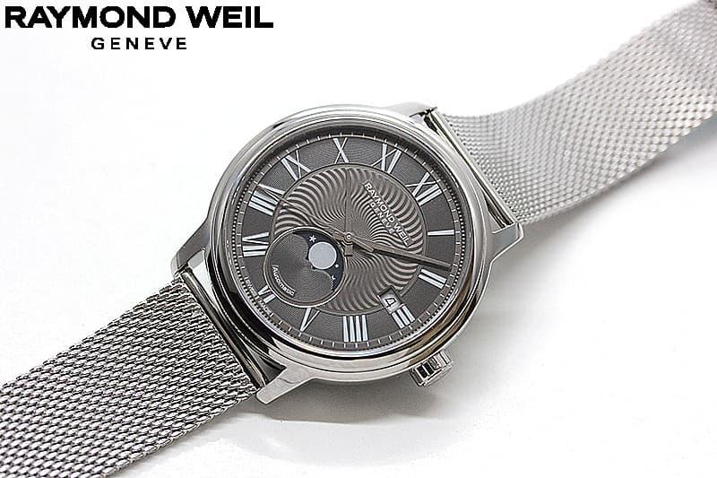 ムーンフェイズの腕時計