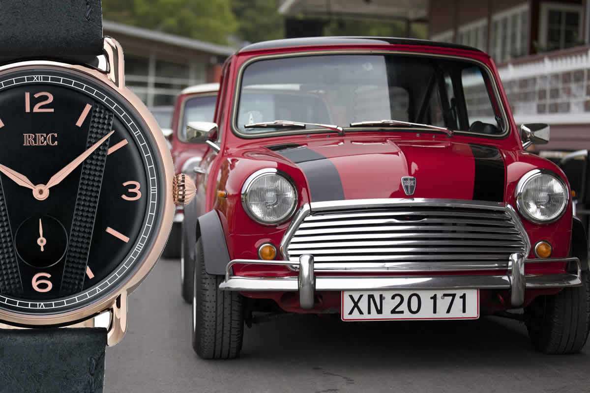 Cooperコレクションは、Mini Cooperの代名詞とも言えるボンネットのストライプにインスパイアされたモデルです。