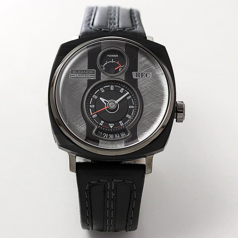 デンマーク コペンハーゲンで生まれた個性派腕時計。マスタング車体から作られている世界にふたつとない腕時計 REC レック