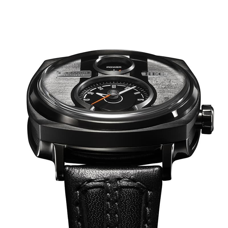 文字盤のデザインも特徴あるレック RECの腕時計
