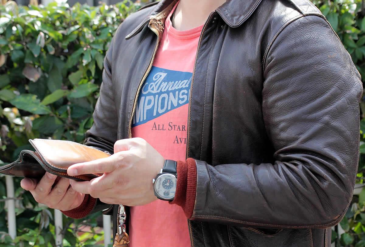 革ジャンに似合う腕時計
