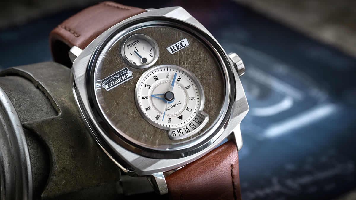 マスタング車 腕時計