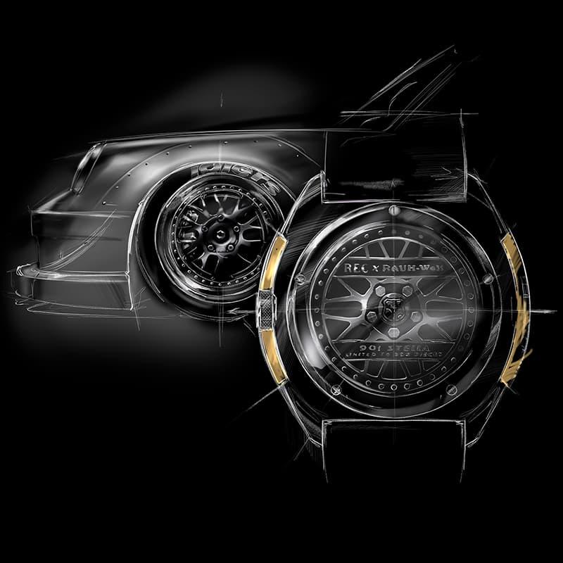 RAUH-Welt BEGRIFF (RWB)の創立者である、中井 啓氏とのコラボレーションによって誕生したREC(レック)The 901 RWB Stella腕時計。世界限定。