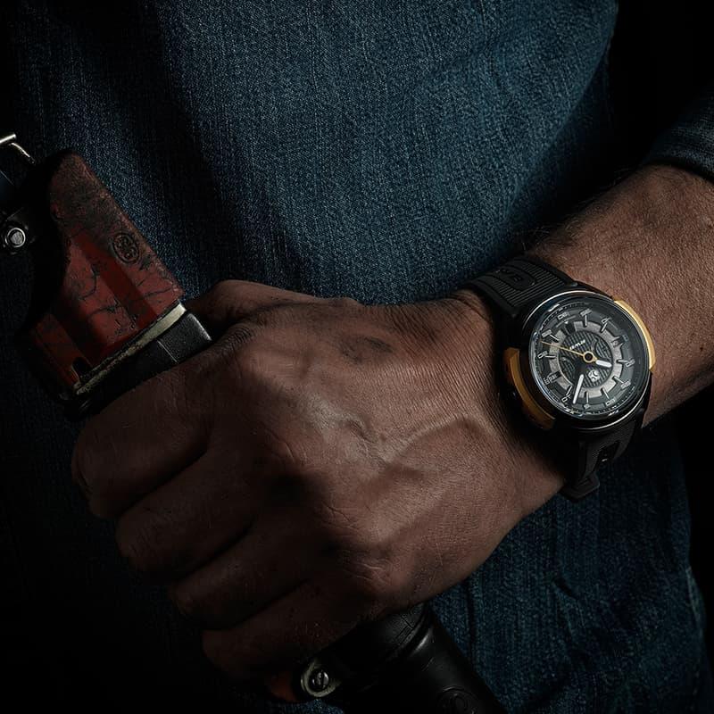 個性ある腕時計