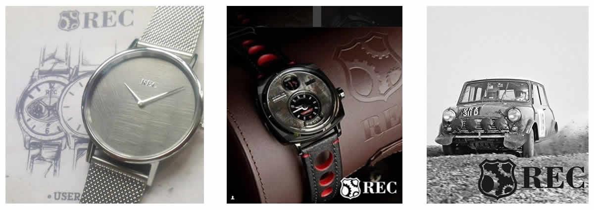 デンマークブランド 時計 REC レック 腕時計