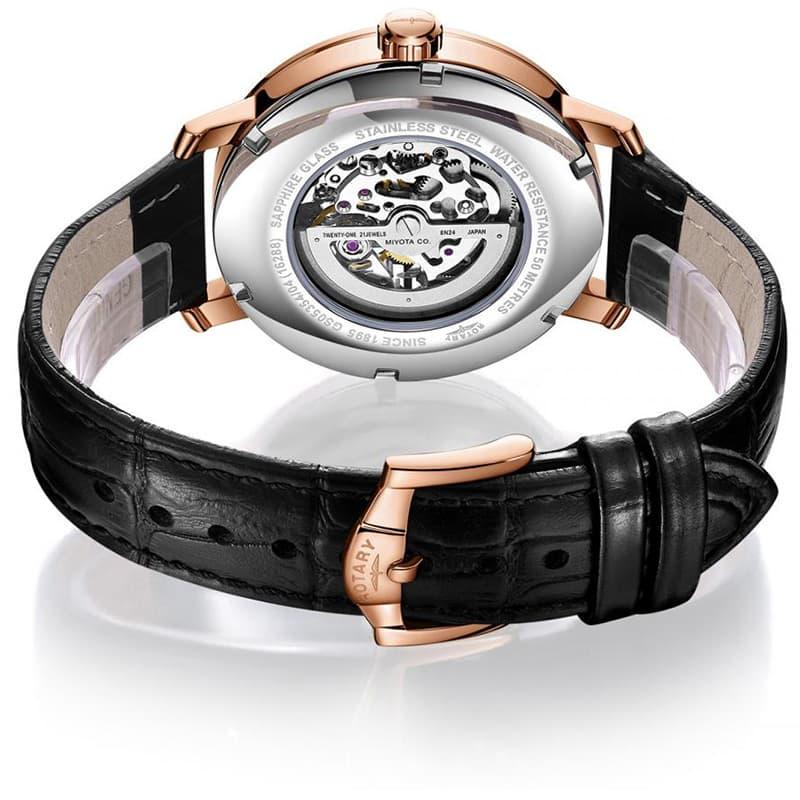 ロータリー rotary 腕時計 自動巻き