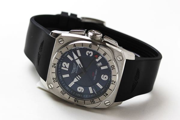 ロシア 腕時計 MIG-29 コックピットGMTクォーツ