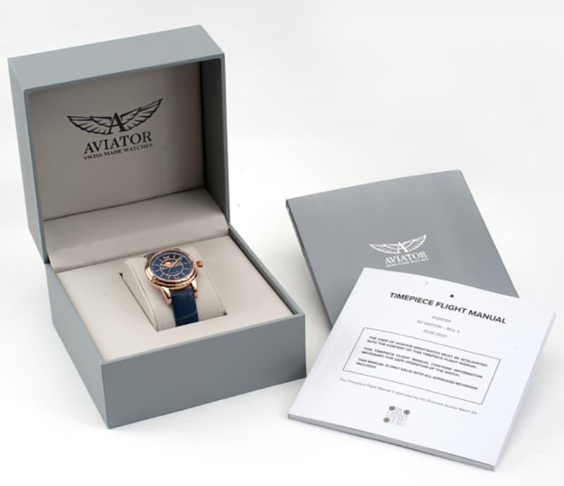 AVIATOR(アビエイター)腕時計 ケース 正規品 正規腕時計