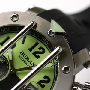 buran ロシア時計 サファイアクリスタル