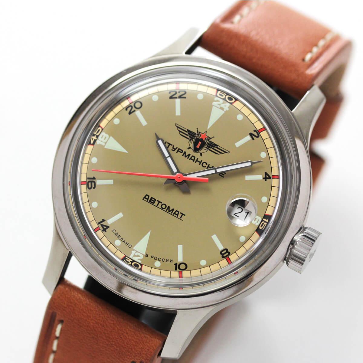SPACE PIONEERS 2431-1767936 ロシアブランド シュトルマンスキー腕時計