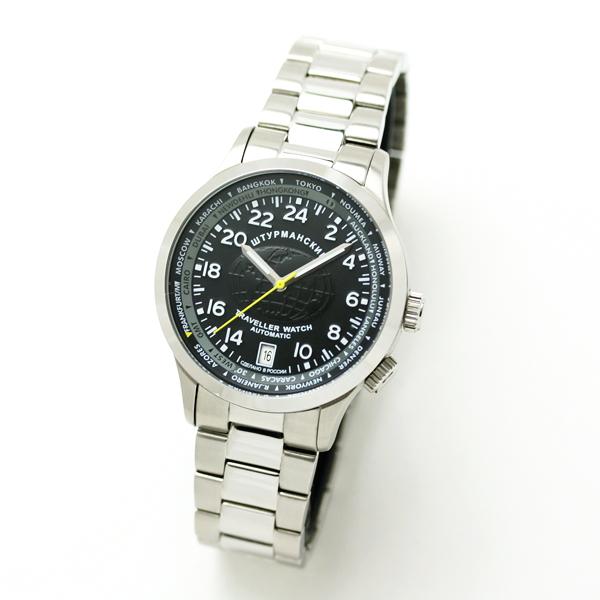 シュトルマンスキー トラベラーウォッチ 2431-2255286 24時間表示 GMT 自動巻き