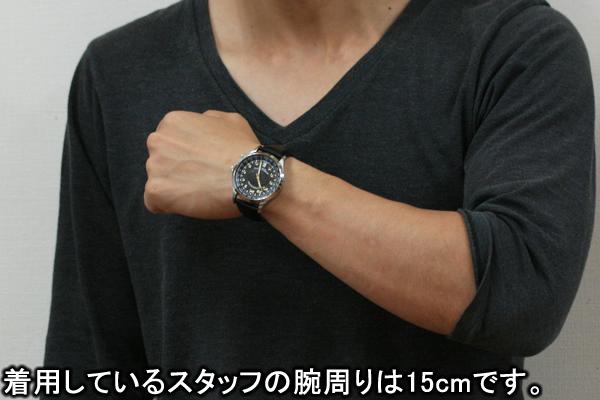 シュトルマンスキーの腕時計トラベラーウォッチ 正美堂男性スタッフ