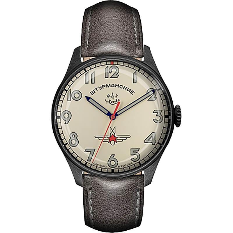 世界500本限定、ご予約制 STRUMANSKIE(シュトルマンスキー) アニバーサリー限定モデル ガガーリン(Gagarin) アイボリーカラ— 2609-3700477 腕時計