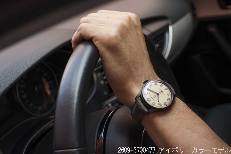 STRUMANSKIE(シュトルマンスキー) アニバーサリー限定モデル ガガーリン(Gagarin) アイボリーカラー 2609-3700477 腕時計