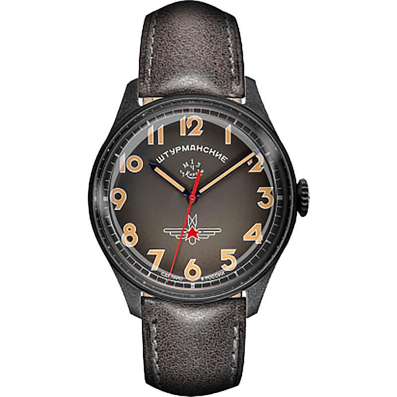 世界500本限定、ご予約制 STURMANSKIE(シュトゥルマンスキー) アニバーサリー限定モデル ガガーリン(Gagarin) オレンジインデックスカラー 2609-3700478 腕時計