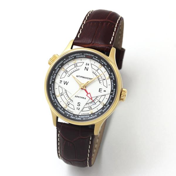 シュトルマンスキー アークティカ 2431-2255286 24時間表示 GMT 自動巻き