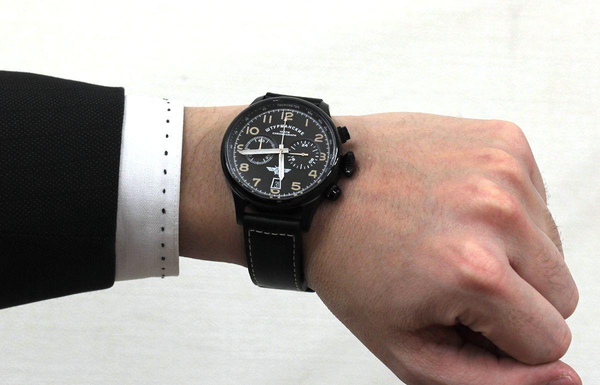 VK643354851 シュトルマンスキー 試着イメージ モデルの腕周りは16cmです