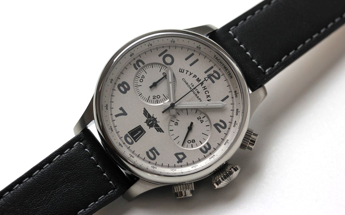 SPACE PIONEERS vk643355852 ロシアブランド シュトルマンスキー腕時計