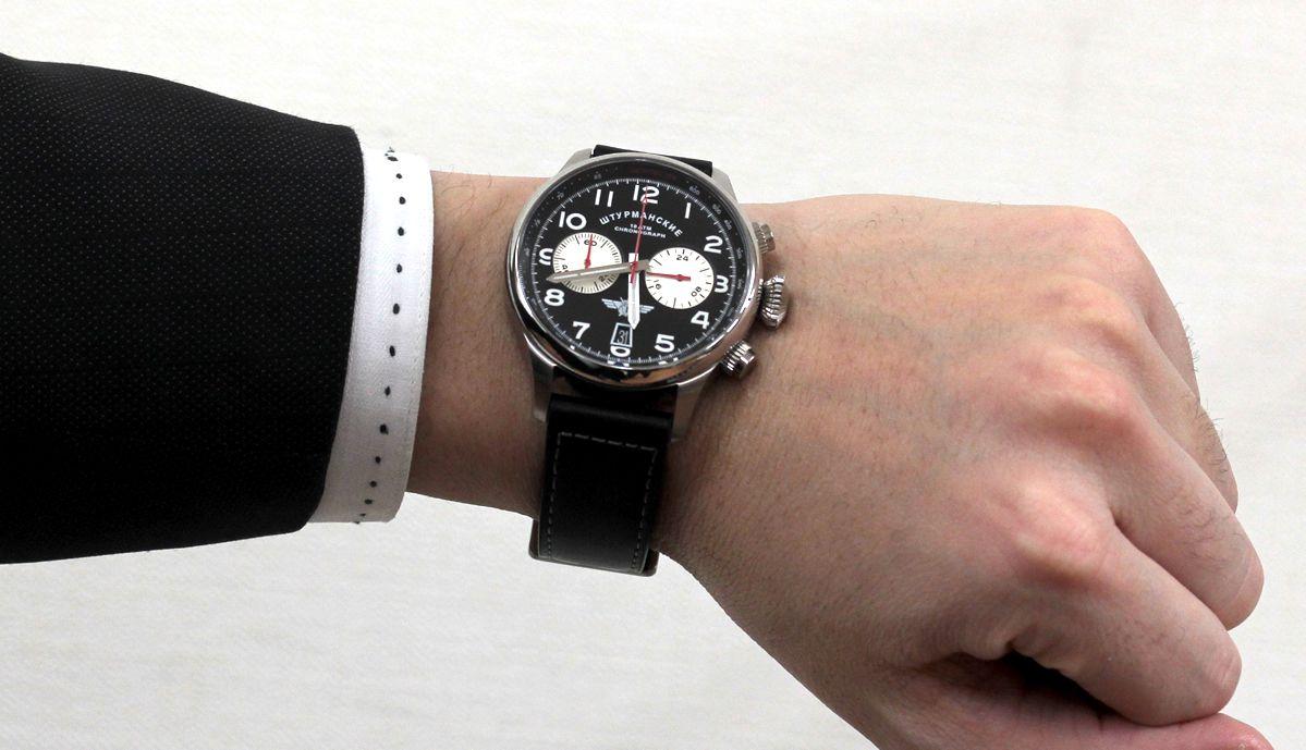 vk643355853 シュトルマンスキー 試着イメージ モデルの腕周りは16cmです