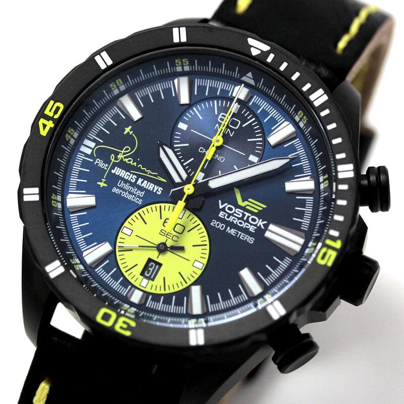 ボストークヨーロッパ 腕時計 ユルギス・カイリス コラボモデル 500本限定 6s11-320j362