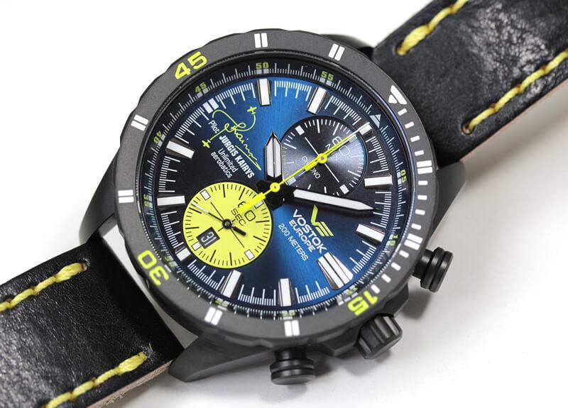 ボストークヨーロッパ 腕時計 ユルギス・カイリス コラボモデル 6s11-320j362 ロシア