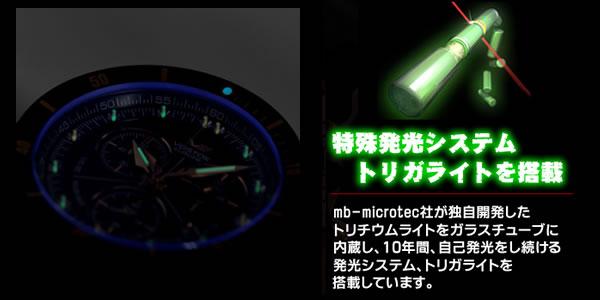 特殊発光システムトリガライトを搭載