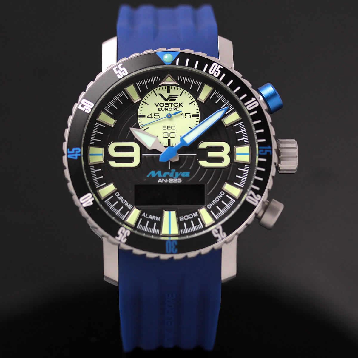 ボストーク ヨーロッパ MRIYA 多機能クォーツ式腕時計 9516-5555249