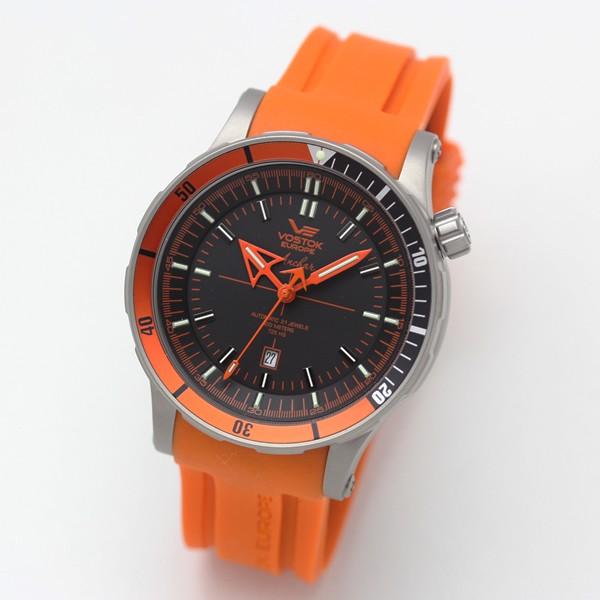 ボストークヨーロッパ アンチャール 腕時計 チタニウムオレンジ nh35a5107173