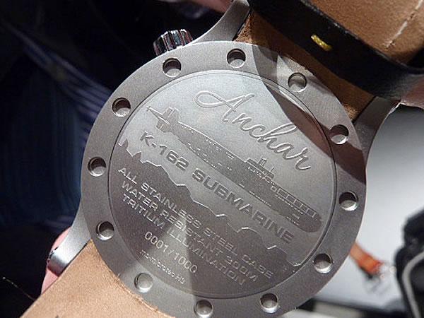 アンチャール時計 裏ぶた画像