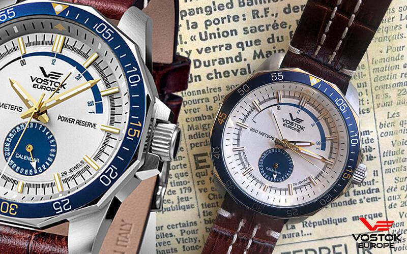 VOSTOK EUROPE(ボストーク ヨーロッパ)N1 Rocket パワーリザーブ  腕時計