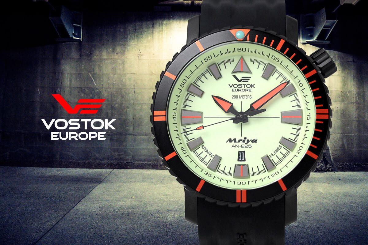 VOSTOK EUROPE(ボストークヨーロッパ) MRIYA(ムリヤ) 自動巻き腕時計 アニバーサリーモデル