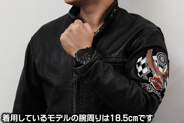 ボストークヨーロッパ 腕時計 正美堂男性スタッフ着用