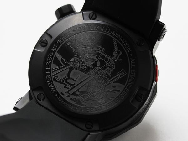 ボストーク ヨーロッパ 腕時計 ルノホート2の裏蓋