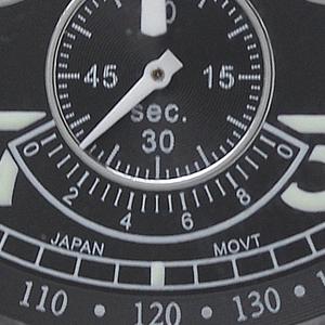 SEALANE(シーレーン) クォーツ式 腕時計 SE15-BK スモールセコンド