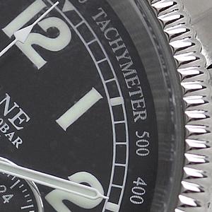 SEALANE(シーレーン) クォーツ式 腕時計 SE15-BK タキメーター
