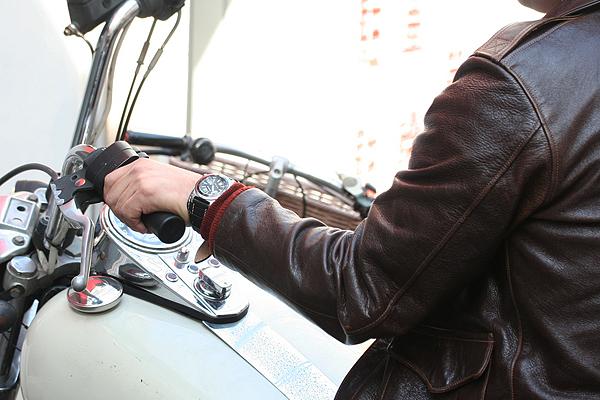 バイカーにお勧めの腕時計