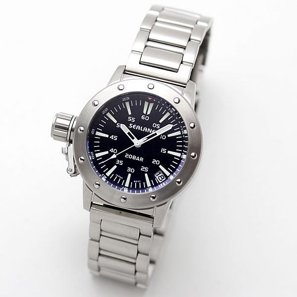 SEALANE(シーレーン) クォーツ式腕時計 SE42-MBK