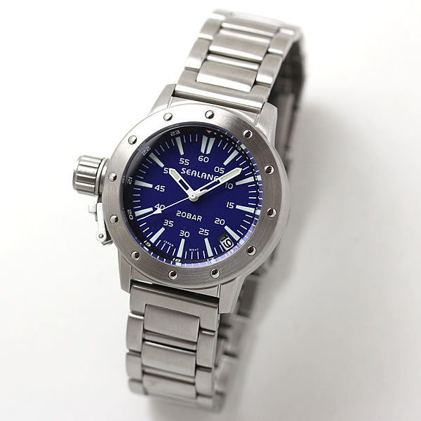 SEALANE(シーレーン) クォーツ式腕時計 SE42-MBL