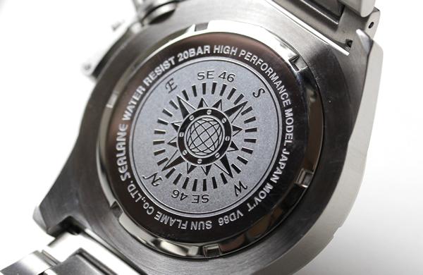 シーレーン 腕時計 クォーツ 裏蓋