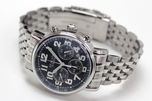 SEALANE(シーレーン)クオーツ式腕時計SE48-MBL ブルー