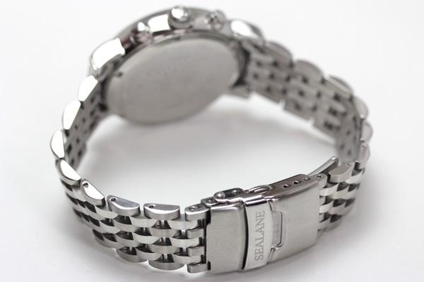 SEALANE(シーレーン)クオーツ式腕時計SE48-MBL 裏側