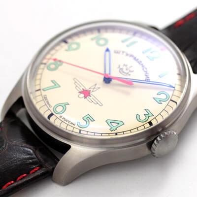 ガガーリンモデル 腕時計 風防