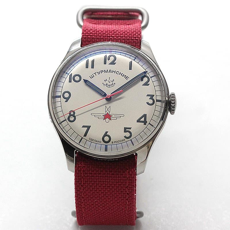 手巻き式 腕時計 限定 キリル文字
