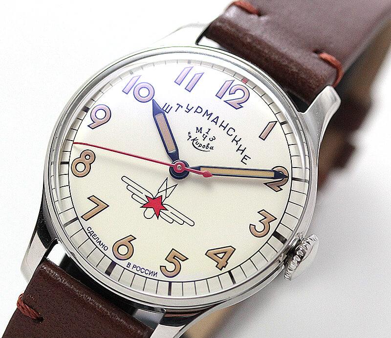 人類史上初めてガガーリンと共に宇宙空間へと飛び立った伝説の腕時計シュトゥルマンスキー(Sturmanskie)の「ガガーリン アニバーサリーシリーズ」。