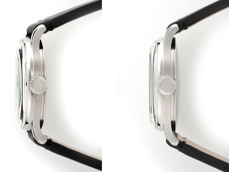 60年、70年当時の文字盤フォントがアクセント、レトロフェイスがたまらない腕時計。