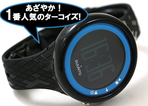 錦織圭選手が着用した腕時計Suunto M4(スント エムフォー) ターコイズ SS015858000