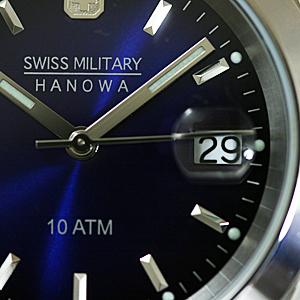 スイスミリタリー エレガント ML100 ネイビー