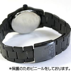 ブラックカラー文字盤